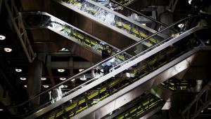 Ruchome schody, Londyn, Wielka Brytania. Autor: Matt Lloyd, Kategoria: Globalny krajobraz 2012