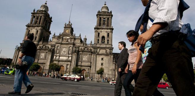 Katedra miejska w Meksyku