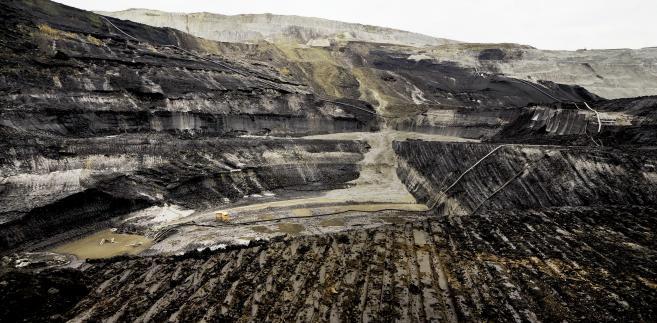 Kopalnia węgla brunatnego w Bełchatowie