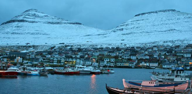 Islandia, wioska rybacka Klaksvik