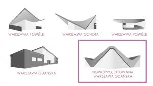 Bryły warszawskich dworców: Warszawa Ochota, Warszawa Powiśle, Warszawa Gdańska