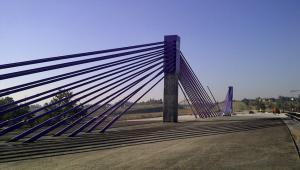 Autostrada A1, most w Mszanie. Zdj. GDDKiA