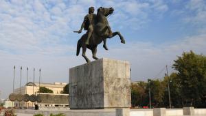 Pomnik Aleksandra Wielkiego w Salonikach