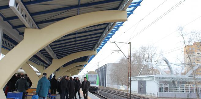 Stacja kolejowa Warszawa Ursus-Niedźwiadek. Materiały prasowe Kolei Mazowieckich.