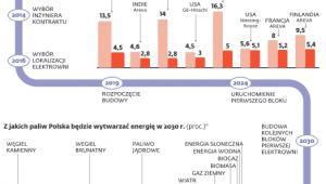 Kosztowne budowy siłowni jądrowych
