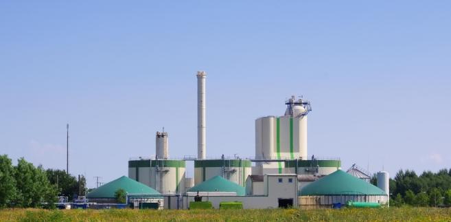 elektrownia biogazowa-biogazownia