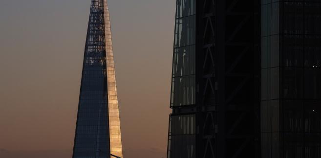 Wieżowiec Shard Tower w Londynie, Wielka Brytania, 28.10.2014