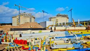Terminal LNG, budowa - październik 2013; fot. materiał prasowy Polskie LNG SA
