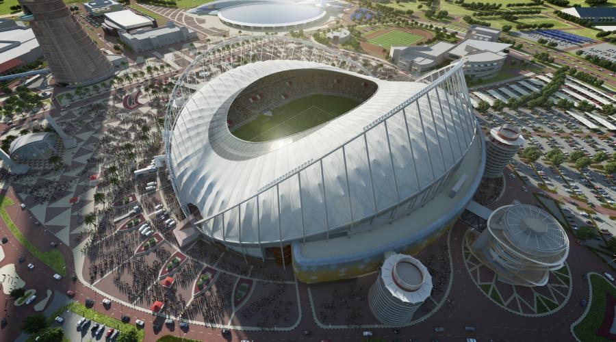 The Khalifa International Stadium,