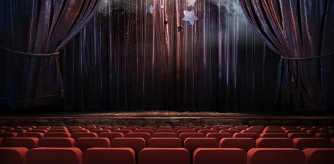 scena w teatrze