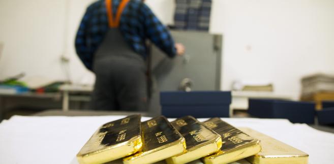 W Hucie Miedzi Głogów KGHM powstają też niewielkie ilości złota