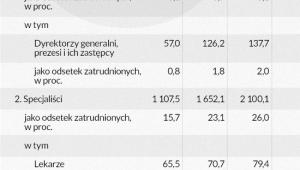 Liczebność grupy osób o najwyższych wynagrodzeniach (infografika Dariusz Gąszczyk)
