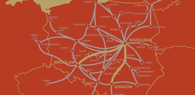 Polski Bus - mapa nowych połączeń