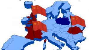 Zaangażowanie w Chin w energetykę jądrową w Europie, źródło: Wysokie Napięcie