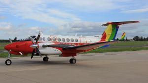 Beechcraft Kingair Air 350 w wersji dla PAŻP
