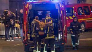 Ataki terrorystyczne na Paryż 13 listopada, EPA/IAN LANGSDON Dostawca: PAP/EPA.