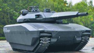 Czołg PL-01 Concept skończył swój żywot na prototypie, osadzonym zresztą na zagranicznym podwoziu materiały prasowe