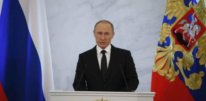 Orędzie Władimira Putina EPA/SERGEI ILNITSKY Dostawca: PAP/EPA.