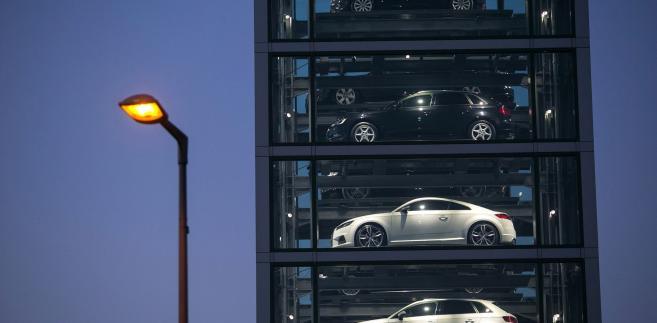 Showroom Audi w Berlinie. 11.10.2015