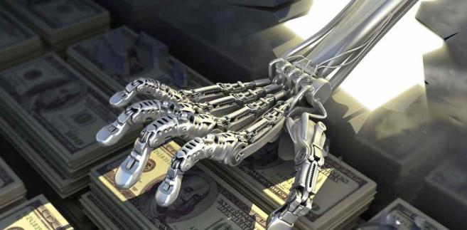 Roboty w bankowości