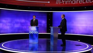 Francois Fillon podczas debaty