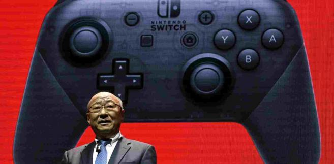 Nowa konsola Nintendo Switch EPA FRANCK ROBICHON