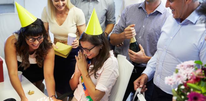 Urodziny w biurze
