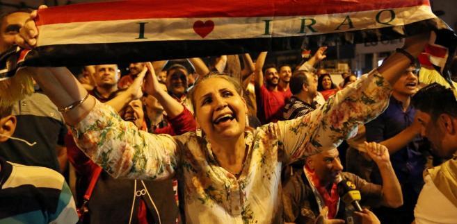 Radość na ulicach Mosulu po zdobyciu miasta przez siły irackie
