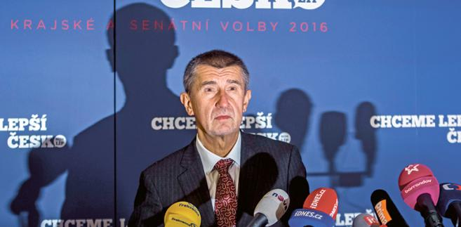 Andrej Babisz, założyciel partii ANO, dysponuje majątkiem przekraczającym 3 mld dol. fot. Matej Divizna/Getty Images