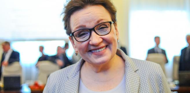 Anna Zalewska reforma edukacji
