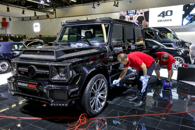 International Motor Show IAA in Frankfurt - Brabus 900