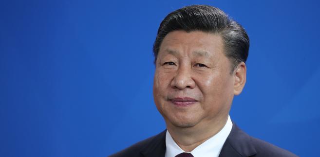 Xi Jinping, prezydent Chin w czasie wizyty w Niemczech, Berlin, 5.07.2017