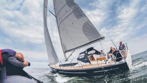 Delphia przejęła szwedzką markę Maxi Yachts i zbudowała 12-metrowy jacht Maxi 1200 fot. Marek Wilczek/materiały prasowe