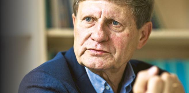 Leszek Balcerowicz wicepremier i minister finansów w latach 1989–1991 oraz 1997–2000, prezes NBP w latach 2001–2007, przewodniczący rady fundacji Forum Obywatelskiego Rozwoju fot. Wojtek Górski