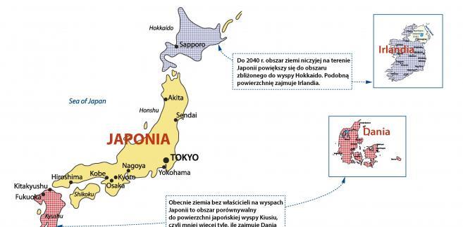 Ziemia niczyja Japonia