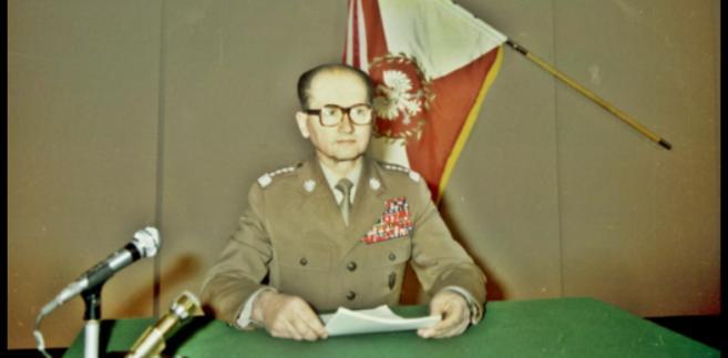 Gen. Wojciech Jaruzelski, stan wojenny