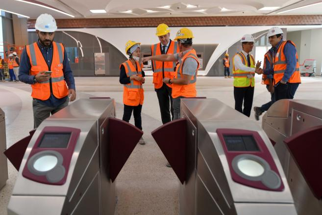 Stacja metra Ad-Dauha w Katarze