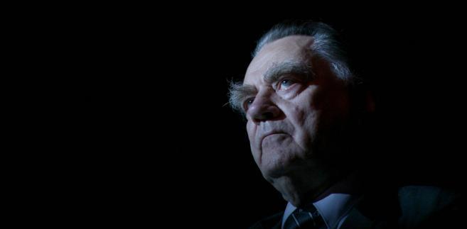 Jan Olszewski premier w latach 1991–1992, polityk, adwokat. W PRL występował jako obrońca w procesach politycznych fot. Jan Kucharzyk/East News