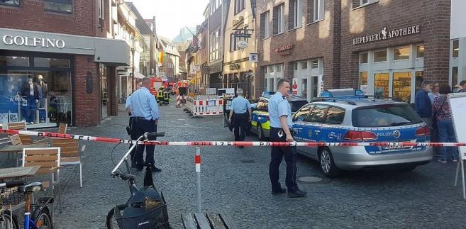 Policja w Muenster