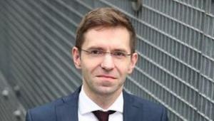 Michał Fijoł, członek zarządu PLL LOT ds. handlowych. Źródło: Materiały prasowe LOT