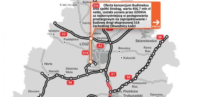 S14 - zachodnia obwodnica Łodzi