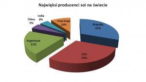 Najwięksi producenci soi na świecie