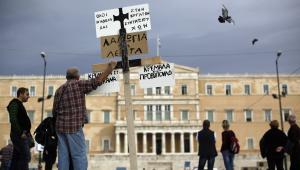Demonstracja w Grecji