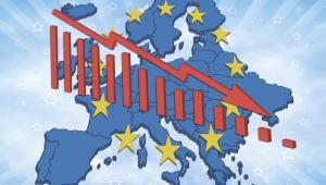 Mapa Europy, kryzys