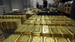 Produkcja sztabek złota w Szwajcarii