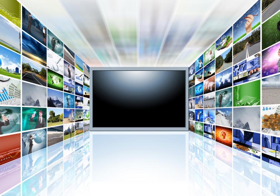 telewizja, media
