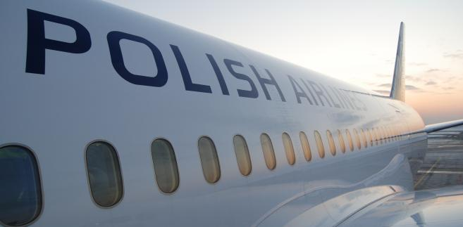 Samolot Boeing 787 Dreamliner w barwach PLL LOT.