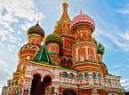 4. miejsce: Cerkiew (Sobór) Wasyla Błogosławionego. Znajduje się na Placu Czerwonym tuż obok Kremla. Zbudowana w latach 1555-60 przez cara Iwana Groźnego miała upamiętniać zwycięstwo w wojnie z kazańskimi Tatarami i zdobycie miasta Kazań.
