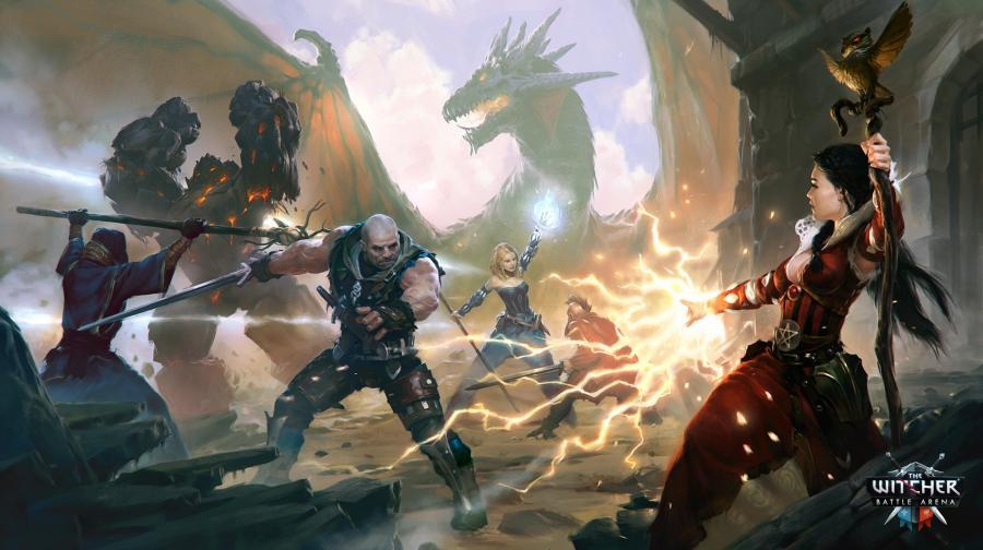 Wiedźmin, wersja mobilna. The Witcher: Battle Arena. Zdj. CD Projekt