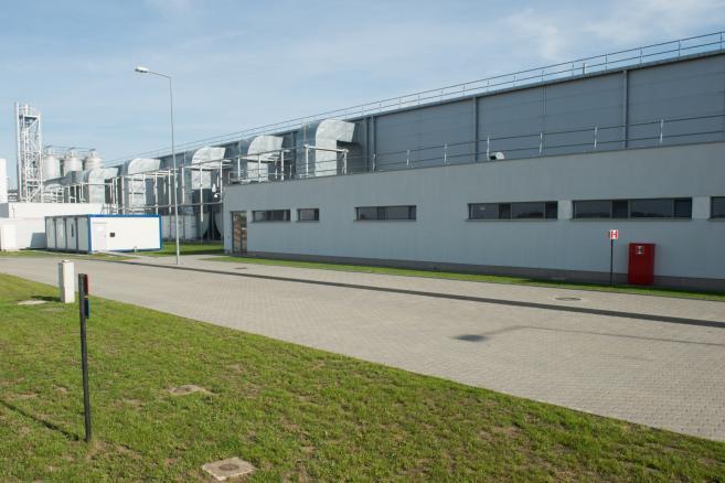 Nowo otwarta fabryka chipsów Pringles w Łódzkiej Specjalnej Strefie Ekonomicznej w Kutnie  (zuz) PAP/Grzegorz Michałowski